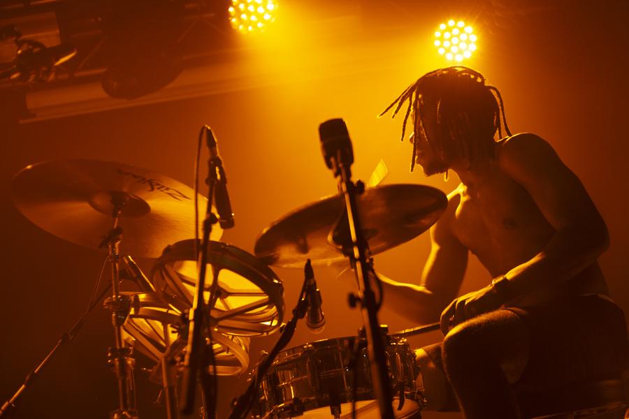 Black Midi live at The Liquid Room, 17 Feb
