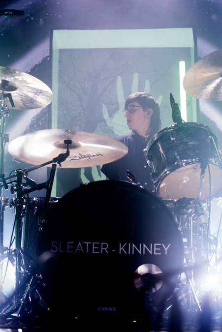 Sleater-Kinney live at Barrowlands, Glasgow, 28 Feb
