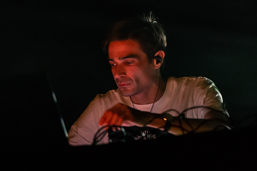 Jon Hopkins live at Usher Hall, Edinburgh, 4 Mar