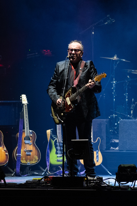 Elvis Costello live at Usher Hall, Edinburgh, 10 Mar