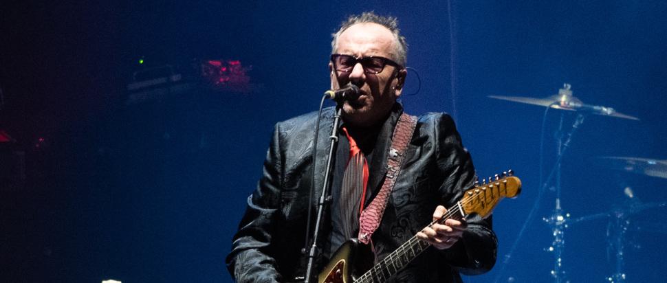 Elvis Costello live at Usher Hall, Edinburgh, 10 Mar
