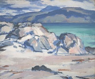 Iona, Mull and Ben More in the Distance, Peploe