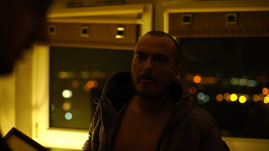 James Price in a scene from his music video for Diamonds into Dust