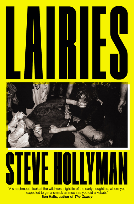 Cover jacket for Lairies by Steve Hollyman