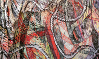 Christian Newby, Flower - Necklace - Cargo Net