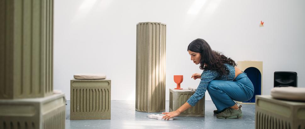 Mina Heydari-Waite, Studio tests, August 2021