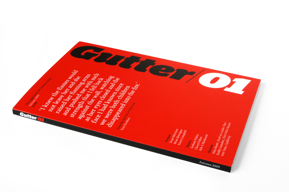 Gutter Mag Cover