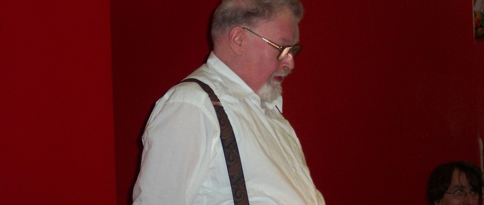 Pic of Alasdair Gray