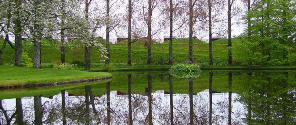 Charles Jencks' Garden of Cosmic Speculation