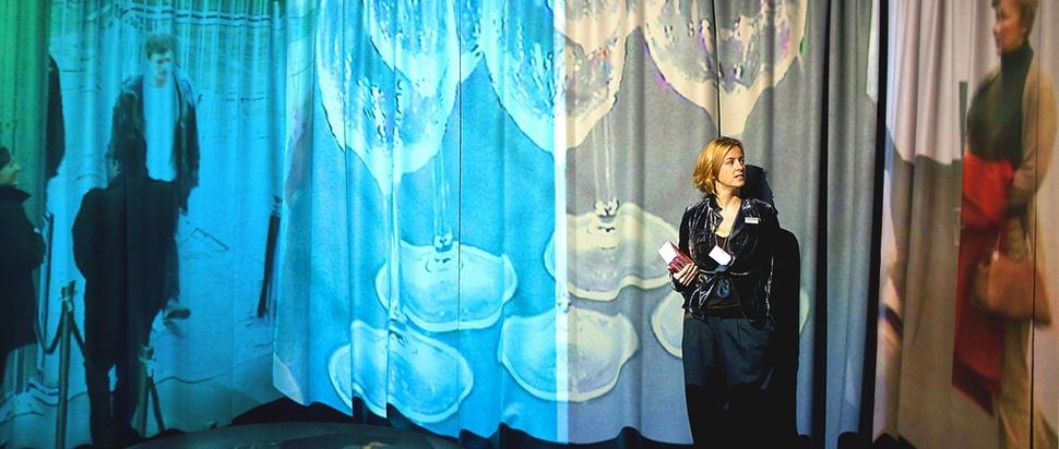 Kim Coleman & Jenny Hogarth, Players, installation view, Frieze Projects, Frieze Art Fair, 2009