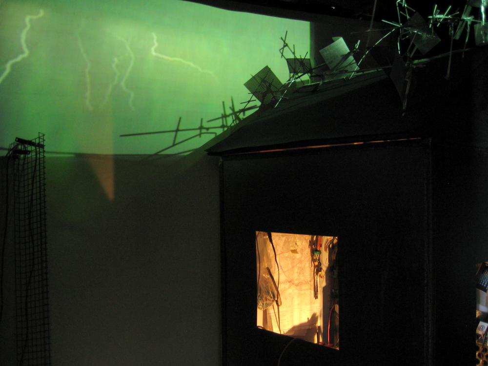 Excessvely Connected House, Installation 2010