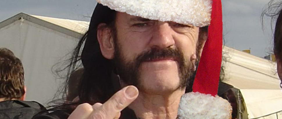 Lemmy gets festive