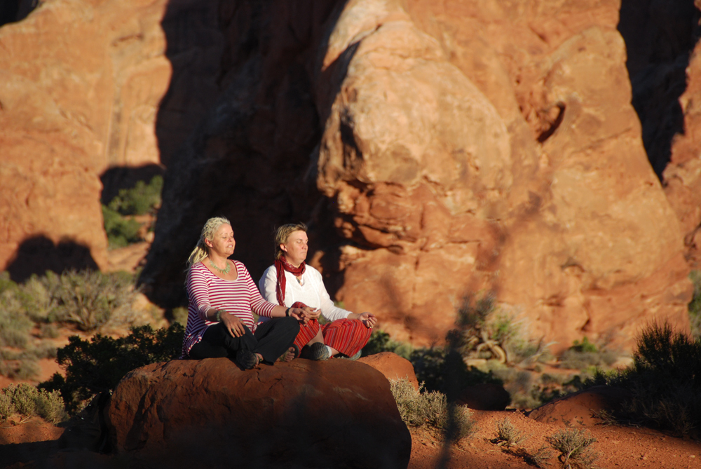 Meditation at Arches National Park