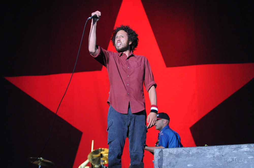 Rage Against the Machine @ T in the Park 2008