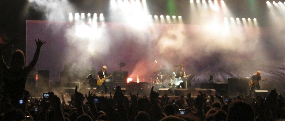 Foo Fighters @ Meadowbank Stadium
