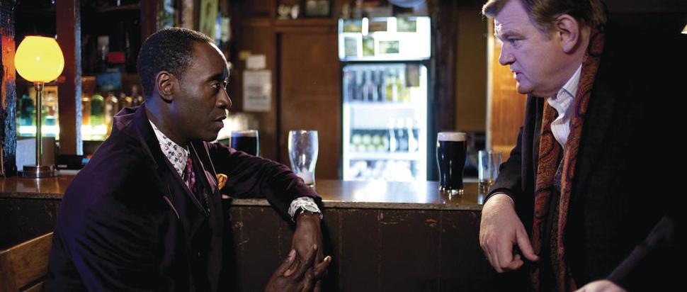Brendan Gleeson and Don Cheadle in The Guard