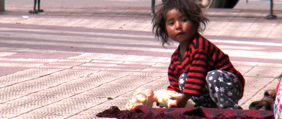 Girl in Bolivia - The End of Poverty?