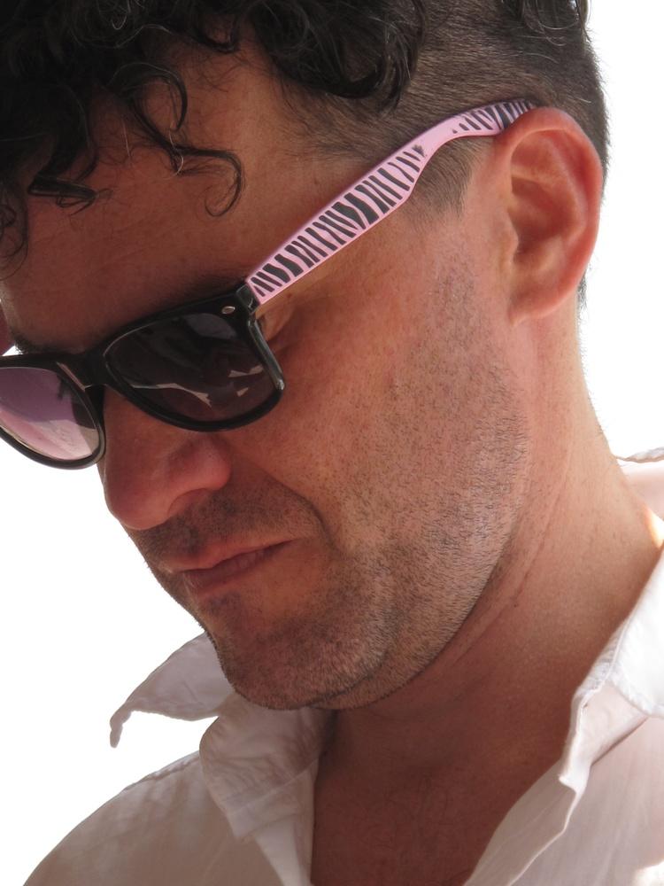 Mark Cousins - funky sunglasses