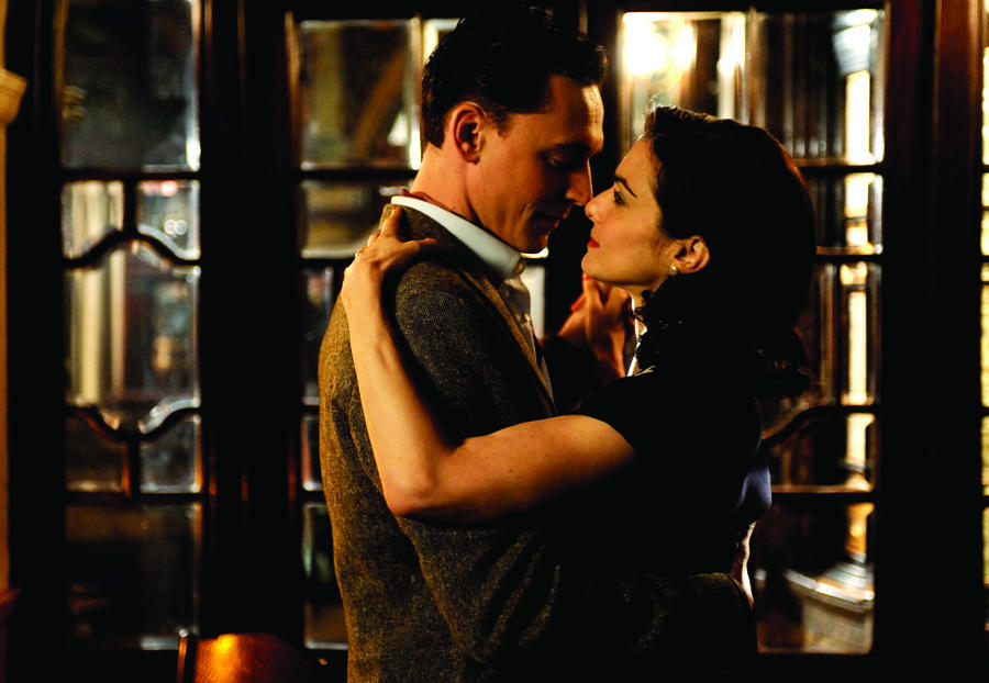 Tom Hiddleston and Rachel Weisz in 'The Deep Blue Sea'