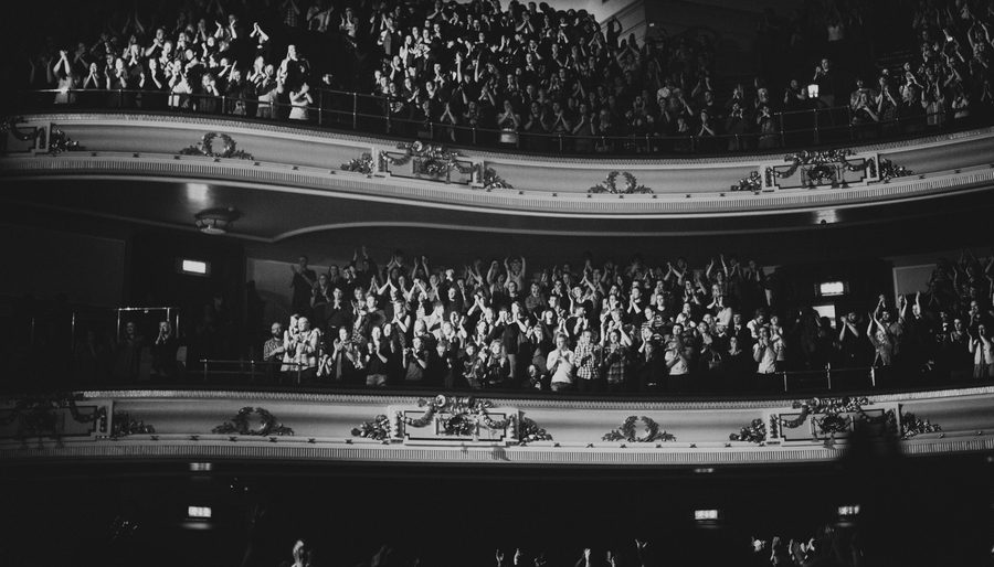 Bon Iver crowd @ Usher Hall