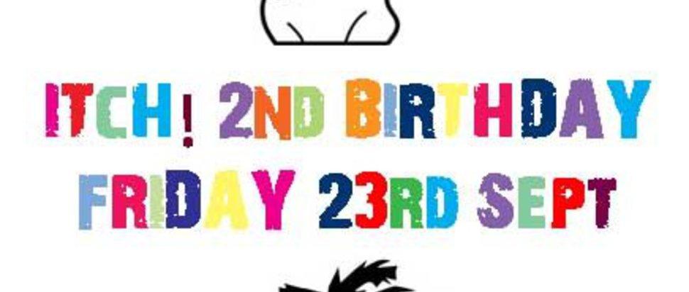 Itch! 2nd Birthday