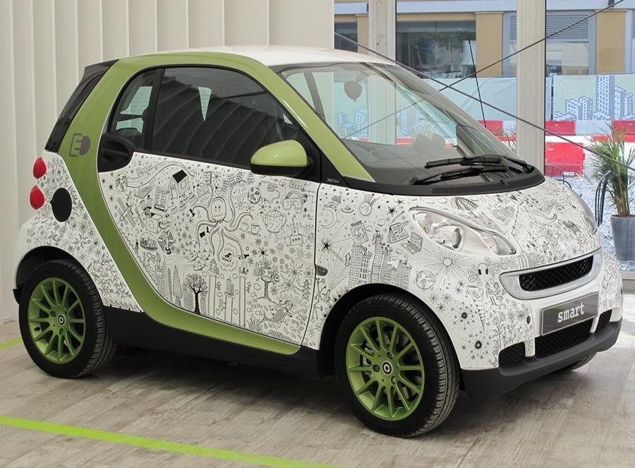 Johanna Basford Smart Car