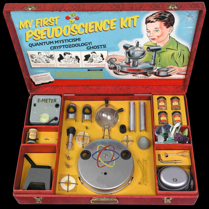 My first pseudoscience kit