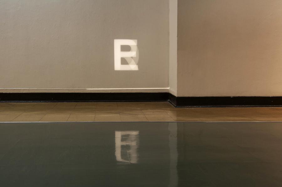 I Was Confused About The Dancefloor Code 16mm film installation Solo show - Calarts Main Gallery, Los Angeles, 2009 Photo: Nicolas Grenier