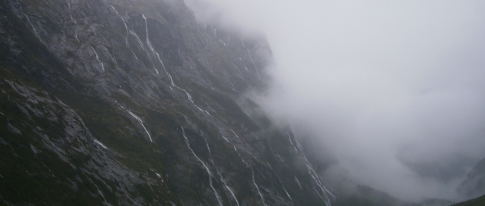 Waterfalls in New Zealand