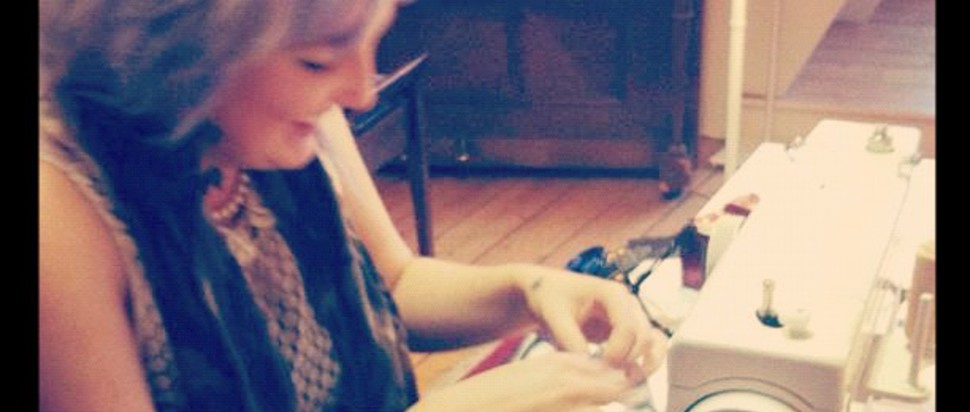 Nadine's sewing class