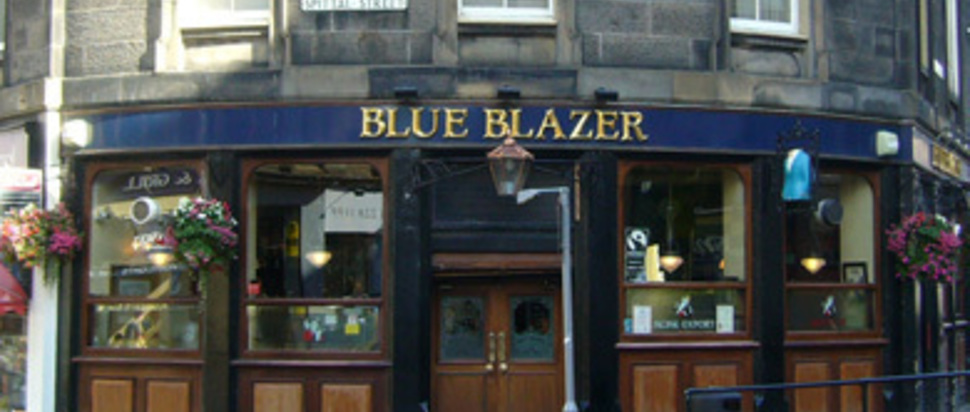 Blue Blazer, Edinburgh