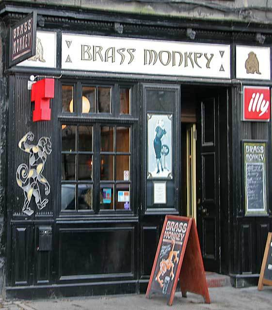 Brass Monkey, Edinburgh