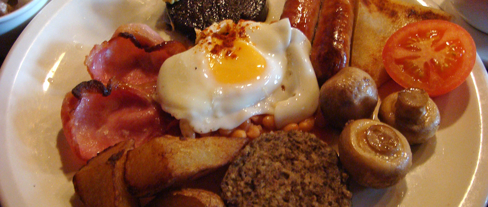 Breakfast in the King's Wark, Leith