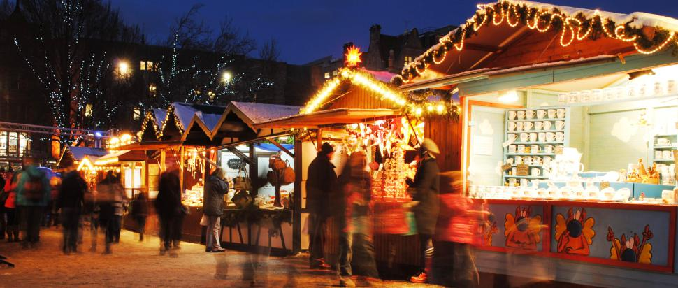Christmas Market, Princes Street