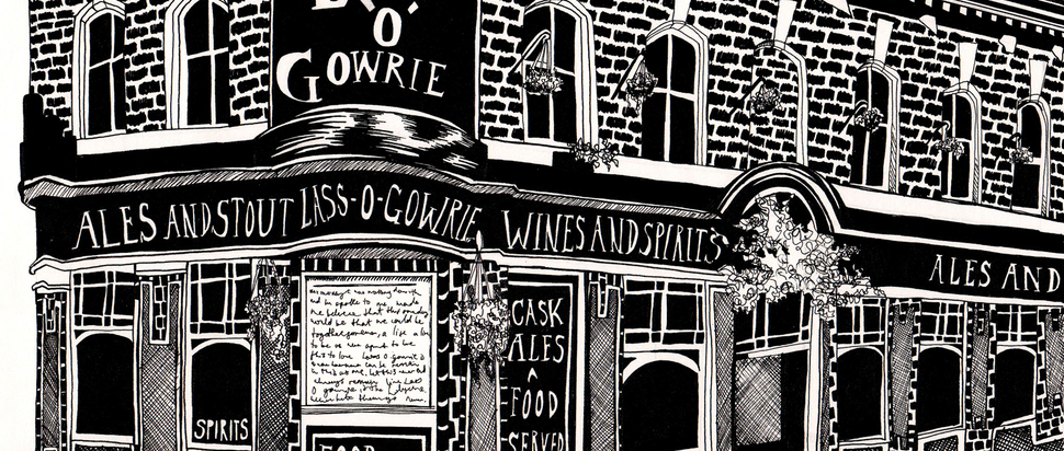 Venue of the Month – The Lass O'Gowrie – Katie Craven