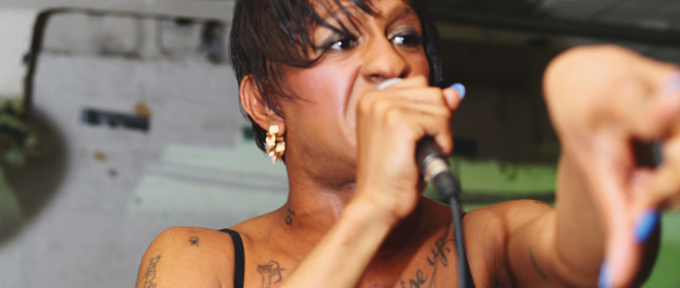 Mykki Blanco @ Islington Mill, Salford, 16 May