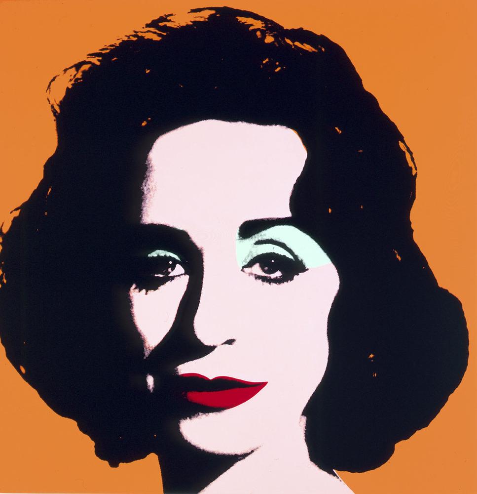 Orange Deb,2000_Deborah Kass_Silkscreen on Canvas_Courtesy of the artis and Paul Kasmin Gallery