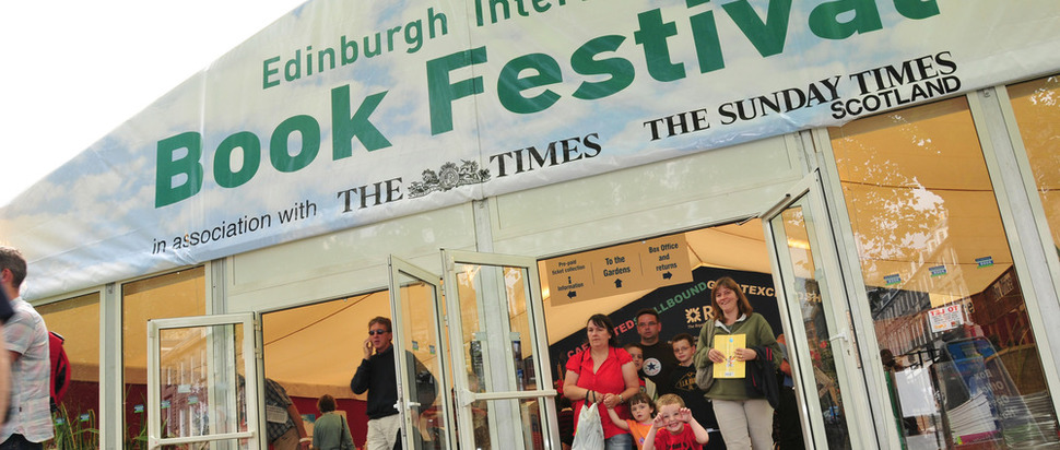 Entrance to the book festival