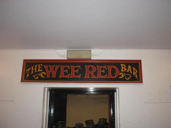 The Wee Red Bar at ECA Edinburgh
