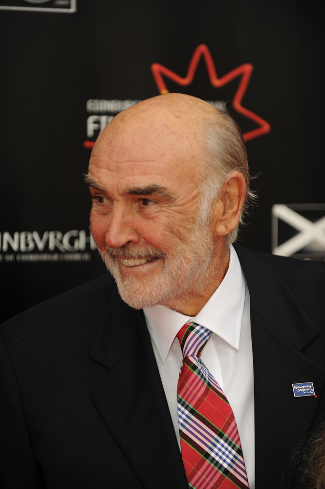 Sir Sean Connery at the opening