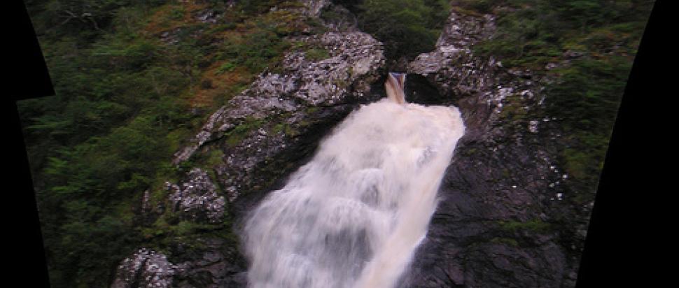 Falls of Foyers - en route to Belladrum
